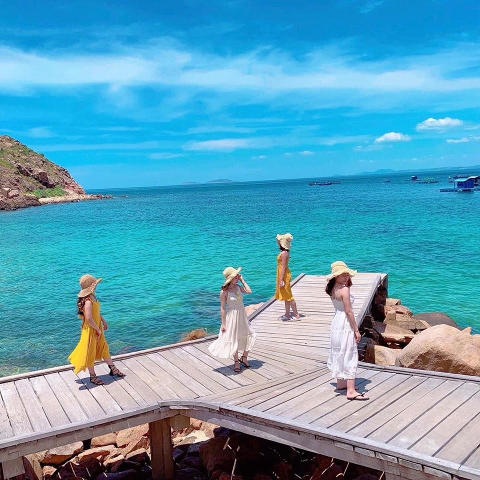 Tour 3 đảo Cù Lao Xanh – Hòn Khô – Kỳ Co