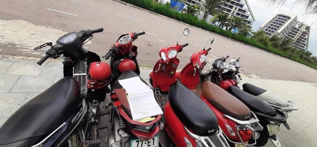 địa chỉ thuê xe máy Quy Nhơn